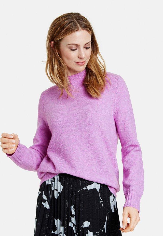 Pullover - sheer-lilac melange