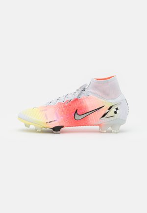 MERCURIAL DREAM SPEED 8 ELITE FG - Moulded stud football boots - white/metallic silver/pure platinum