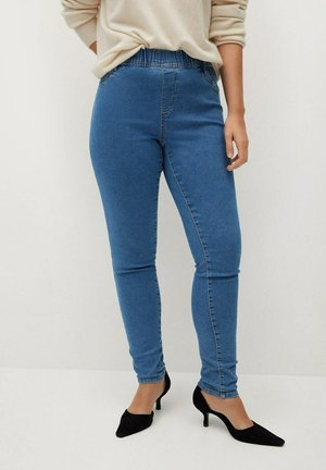 MASSHA - Jegging - middenblauw