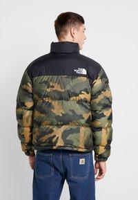 The North Face - 1996 RETRO NUPTSE JACKET - Down jacket - burnt olive - 2