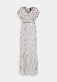 Adrianna Papell - BLOUSON BEADED DRESS - Occasion wear - bridal silver - 0