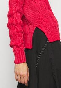 Polo Ralph Lauren - LONG SLEEVE - Strikkegenser - faded red - 5