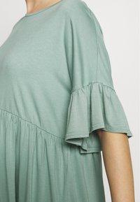 Missguided Maternity - MATERNITY FRILL SLEEVE SMOCK DRESS - Jersey dress - sage - 5
