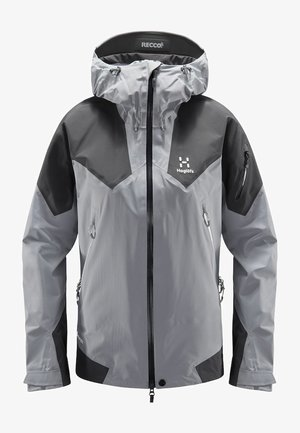 ROC SPIRE JACKET - Soft shell jacket - grey
