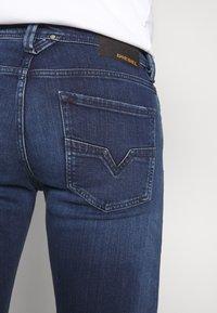 Diesel - LARKEE - Straight leg jeans - dark-blue denim - 3