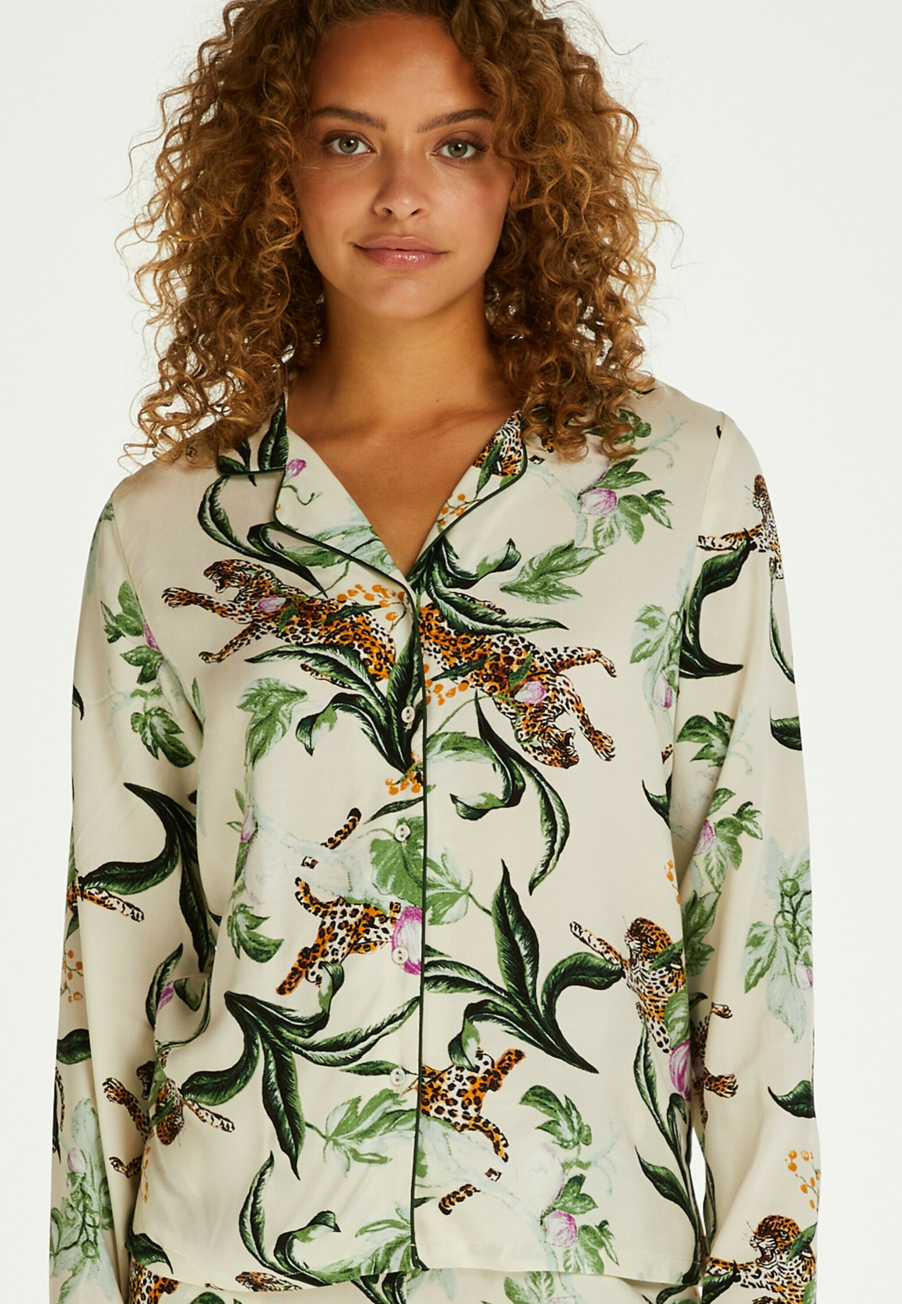 Damen LANGÄRMELIG DRAGONFLY - Nachtwäsche Shirt