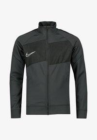 Nike Performance - DRI FIT ACADEMY PRO - Zip-up hoodie - grey/black - 0