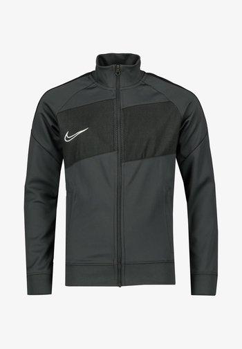 DRI FIT ACADEMY PRO - Zip-up sweatshirt - grey/black