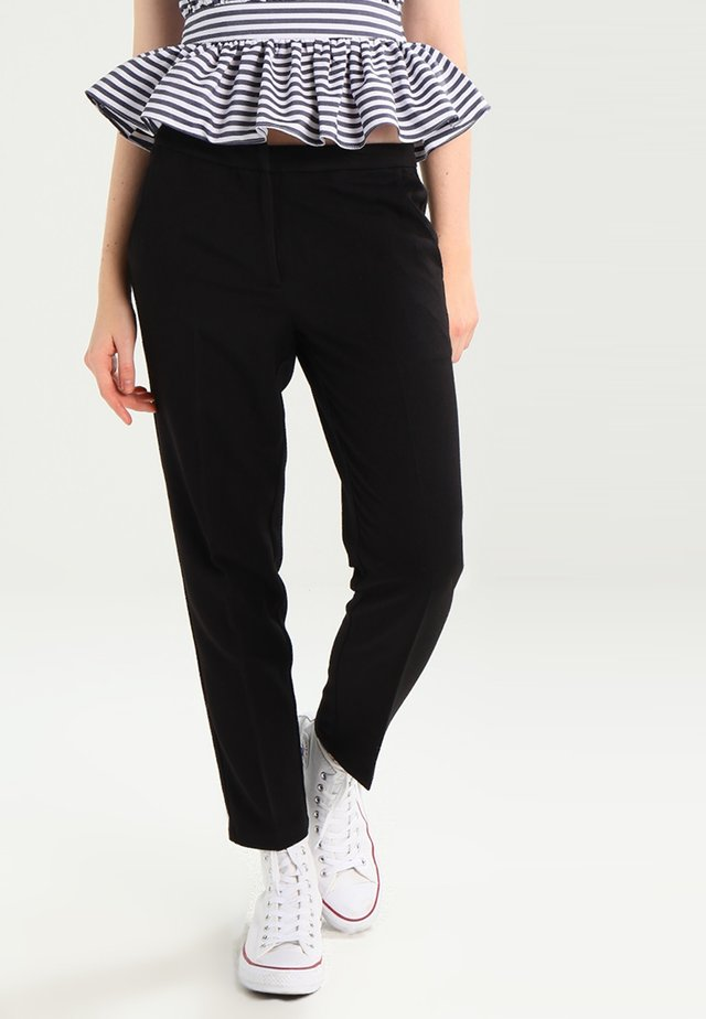 HALLEE - Trousers - black