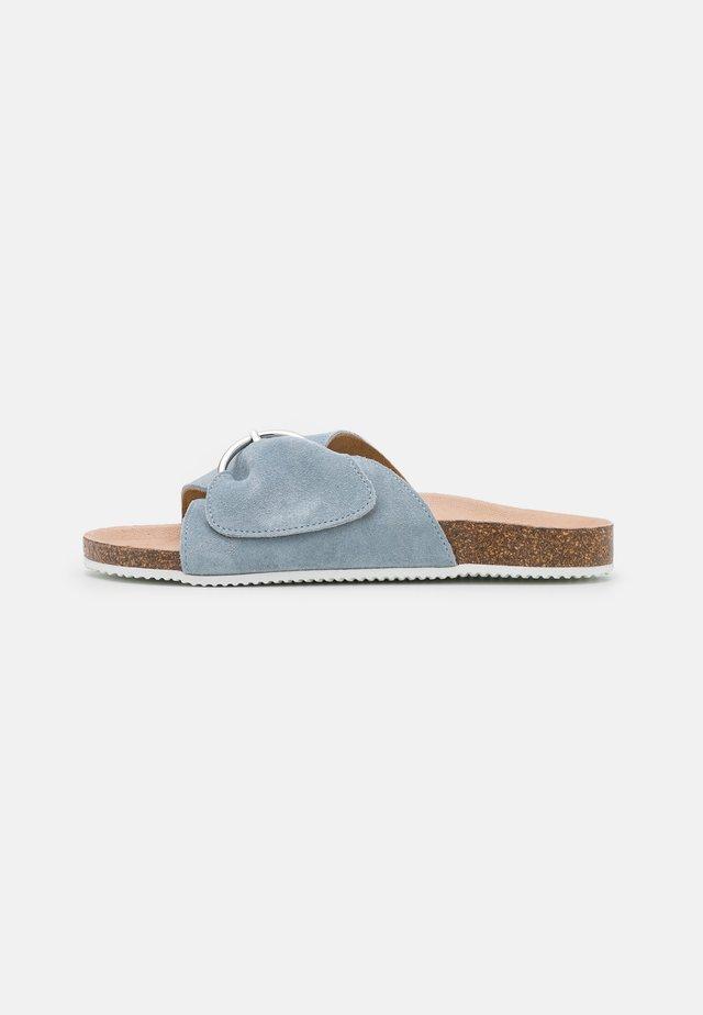 Slippers - light blue