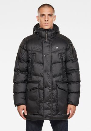 WHISTLER HOODED - Winter jacket - dk black