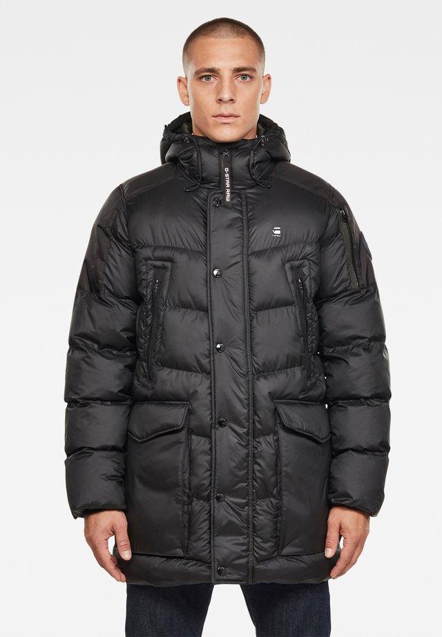 WHISTLER HOODED - Winter jacket - dk black