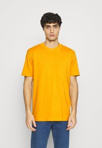 Selected Homme - SLHRELAXCOLMAN O NECK TEE - Basic T-shirt - mango mojito - 0