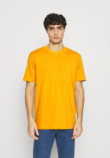 SLHRELAXCOLMAN O NECK TEE - Basic T-shirt - mango mojito