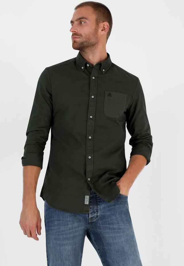 FOREST OXFORD - Overhemd - dark khaki
