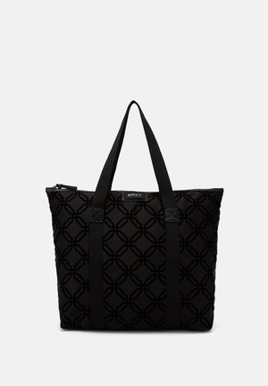GWENETH OCTAGON - Bolso shopping - black