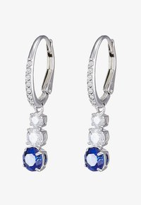 Swarovski - ATTRACT TRILOGY - Earrings - sapphire-coloured/dark - 4