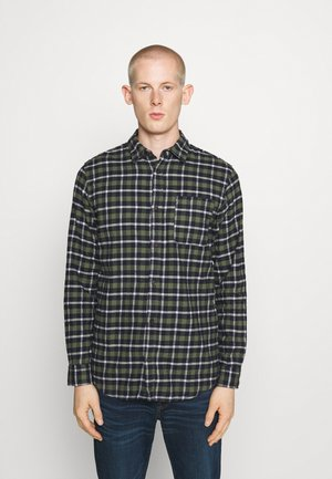 JJPLAIN CHECK - Shirt - forest night