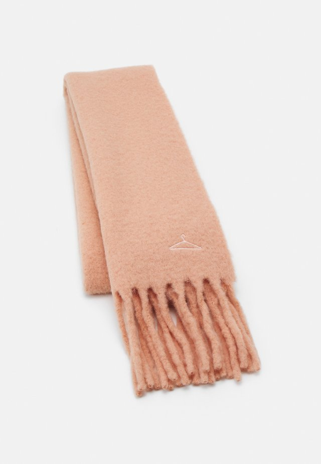 ASTER SOLID - Sjaal - peach