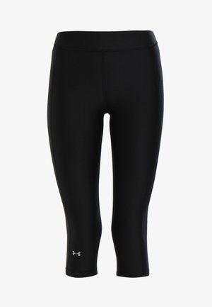 HEATGEAR CAPRI - 3/4 sports trousers - black