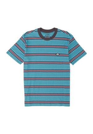 DIE CUT  - Print T-shirt - harbor blue