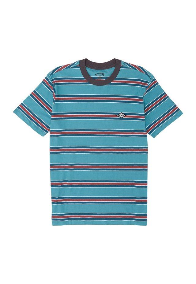 DIE CUT  - T-shirt con stampa - harbor blue