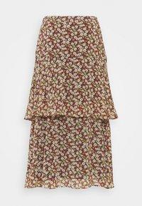 Esprit - FLUENT - A-line skirt - navy - 0
