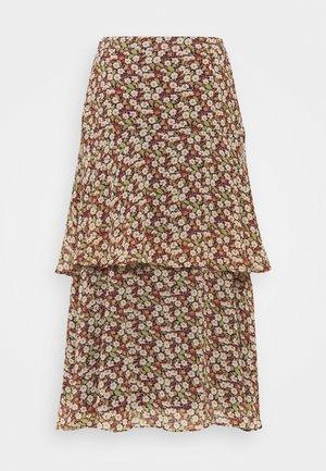 FLUENT - A-line skirt - navy