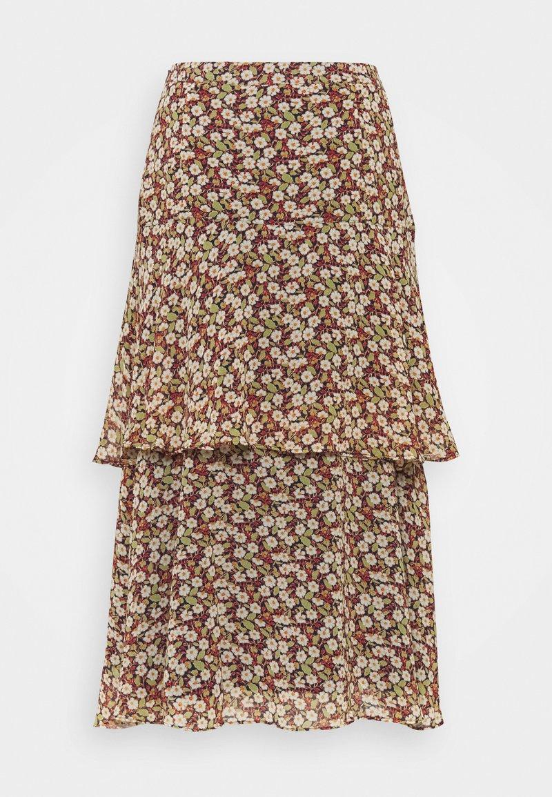 Esprit - FLUENT - A-line skirt - navy