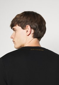 KARL LAGERFELD - CREWNECK - Sweatshirt - black/gold - 3