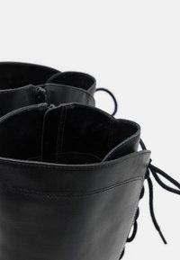 San Marina - EGO - Šněrovací vysoké boty - noir - 5