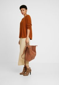 Zign - LEATHER - Reppu - cognac - 1
