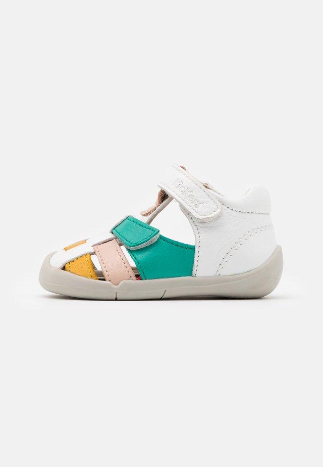 WASABOU - Sandalias - blanc/multicolor