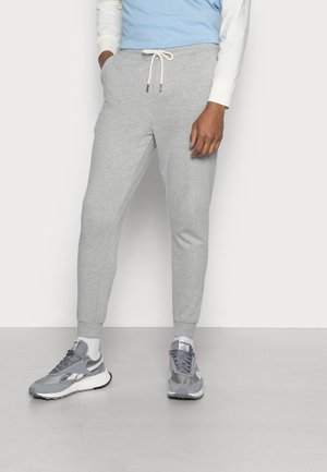TRIPPY SLIM TRACKIE - Tracksuit bottoms - peached grey marle