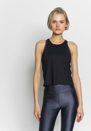 CROPPED SOFT  - Sportshirt - black