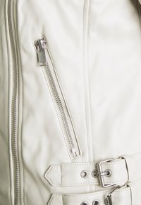 Marks & Spencer London - Faux leather jacket - offwhite - 2