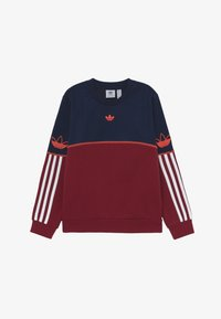 adidas Originals - OUTLINE CREW - Sudadera - dark blue - 2