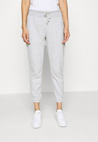 GAP - Tracksuit bottoms - light heather grey - 0