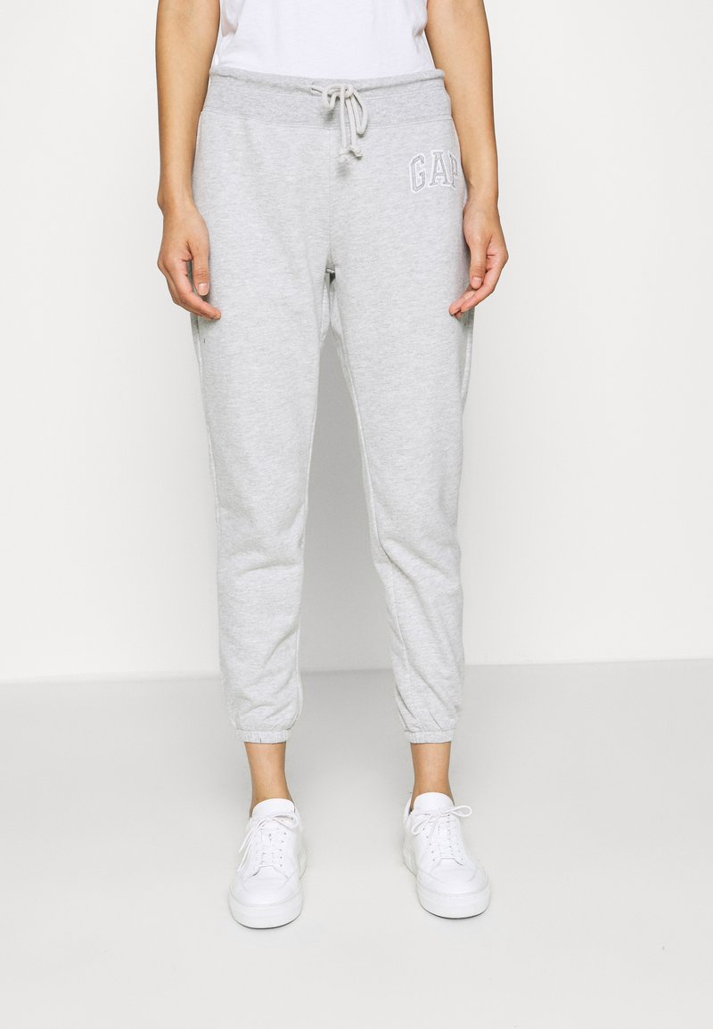 GAP - Tracksuit bottoms - light heather grey