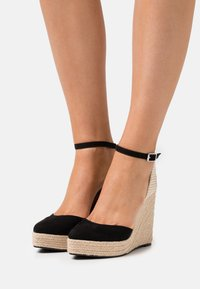 Even&Odd - Platform sandals - black - 0