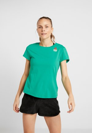 TEE GAMES - T-shirts med print - emerald