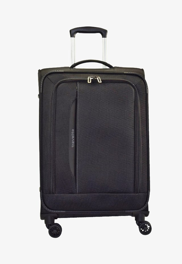CROSSLITE (77 cm) - Wheeled suitcase - black