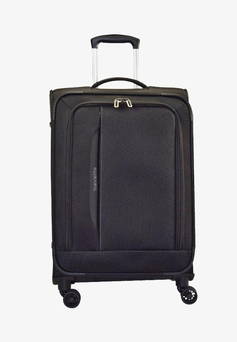 Travelite - CROSSLITE (77 cm) - Wheeled suitcase - black