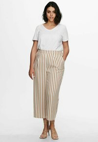 ONLY Carmakoma - Trousers - almondine - 1