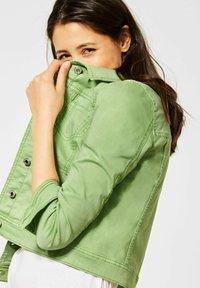 Street One - Denim jacket - grün - 2