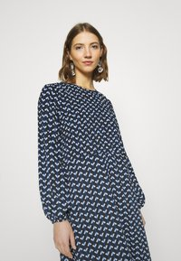 JDY - JDYBOSTON DRESS - Day dress - black/surf the web/cloud dancer - 3