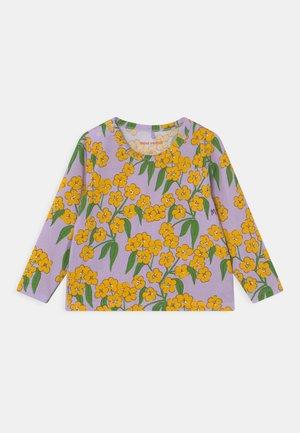 ALPINE FLOWERS TEE - T-shirt à manches longues - purple