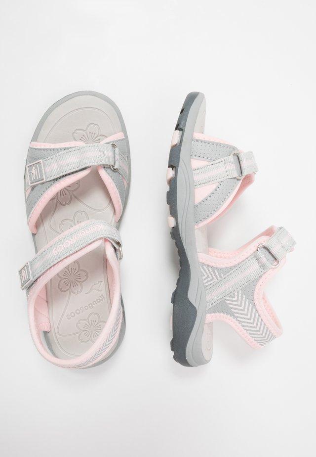 K-LANE - Sandales de randonnée - vapor grey/frost pink
