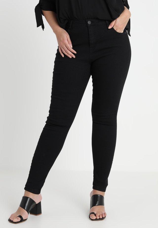 LONG AMY - Slim fit jeans - black