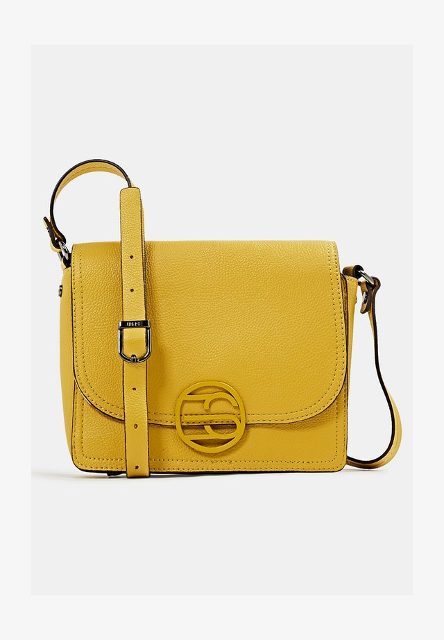 FRAN - Handbag - brass yellow